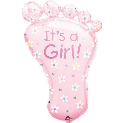 Baby Girl fólia lufi 82 cm