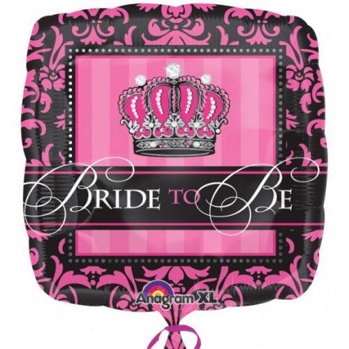 Bride To Be Fólia lufi 43 cm