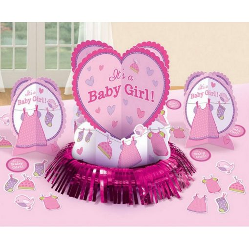 Baby Girl Asztali dekoráció szett