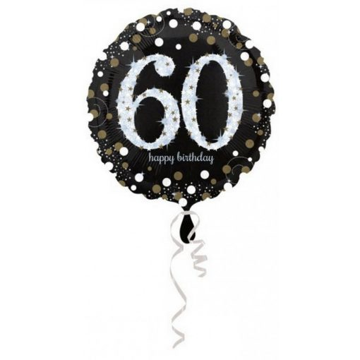 Happy Birthday 60 Fólia lufi 43 cm