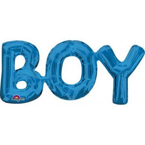 Boy Fólia lufi Blue 50*22 cm