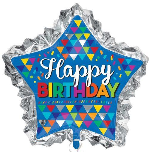 Happy Birthday Fólia lufi 86 cm