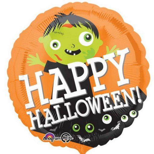 Happy Halloween Fólia lufi 43 cm