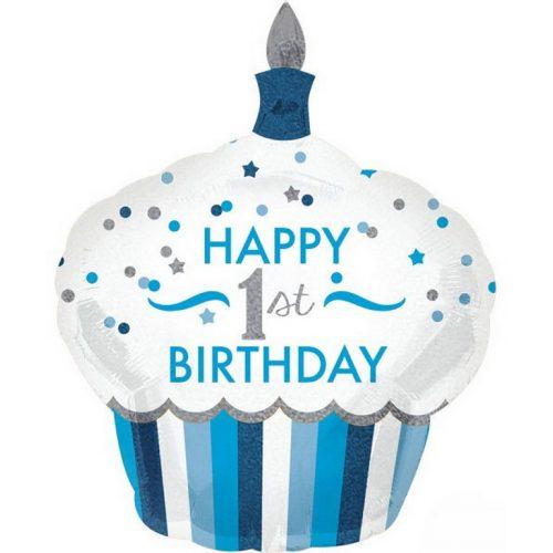 Happy Birthday 1 fólia lufi 91 cm