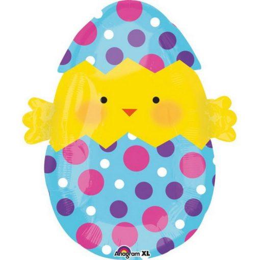 Easter, Húsvét Fólia lufi 50 cm