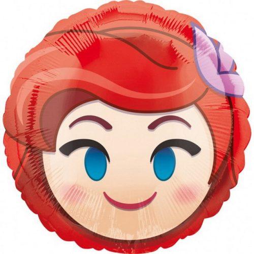 Emoji Hercegnő Fólia lufi 43 cm