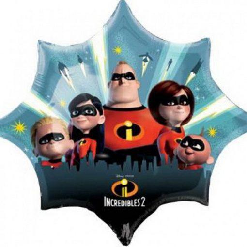 Disney A Hihetetlen család Fólia lufi 88 cm