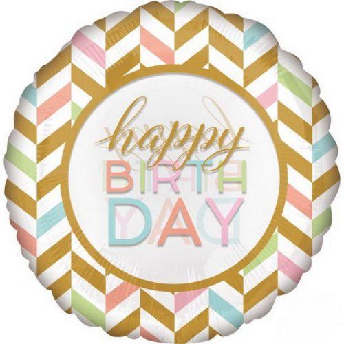 Happy Birthday fólia lufi 71 cm