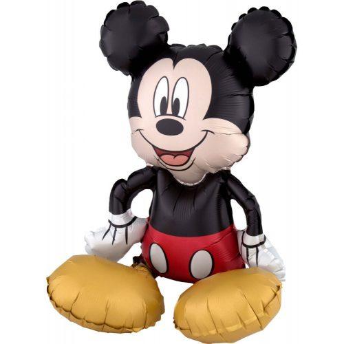 Disney Mickey ülő fólia lufi 45 cm