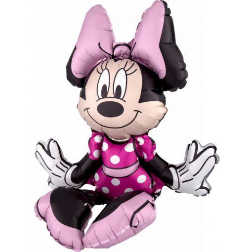 Disney Minnie ülő fólia lufi 48 cm