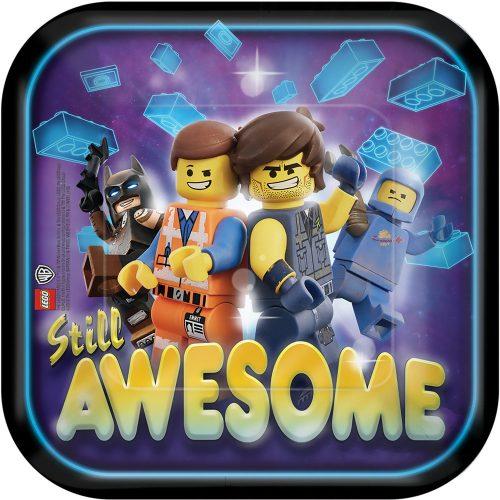 Lego Movie, Lego kaland Papírtányér 8 db-os 18 cm