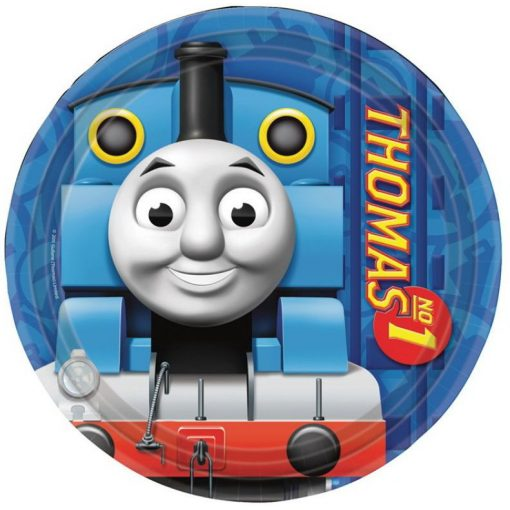 Thomas and Friends Papírtányér 8 db-os 23 cm