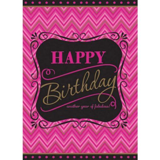 Happy Birthday Asztalterítő 138*259 cm