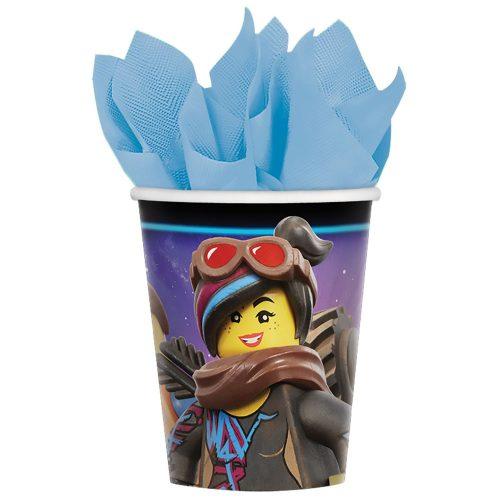 Lego Movie, Lego kaland papír pohár 8 db-os 266 ml