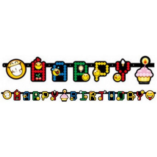 Emoji Happy Birthday felirat 193 cm