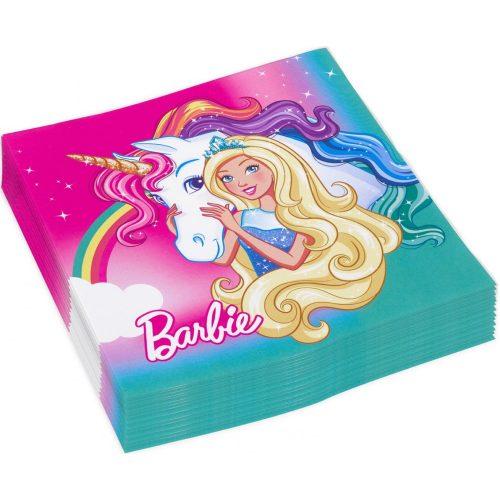 Barbie szalvéta 20 db-os