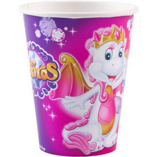 Safiras papír pohár 8 db-os 250 ml