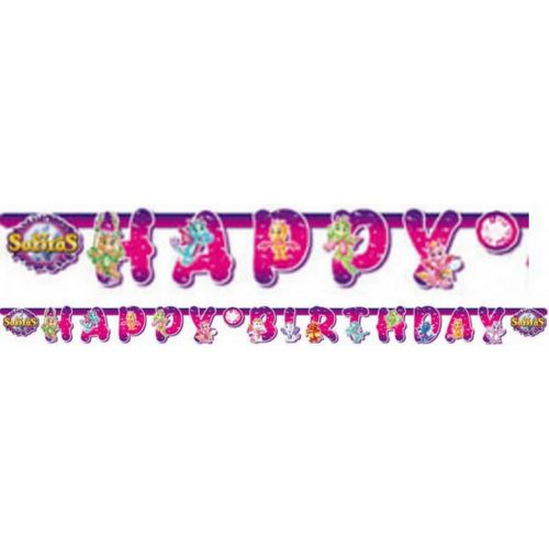 Safiras Happy Birthday felirat 200 cm
