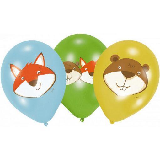 Fox, Róka léggömb, lufi 6 db-os