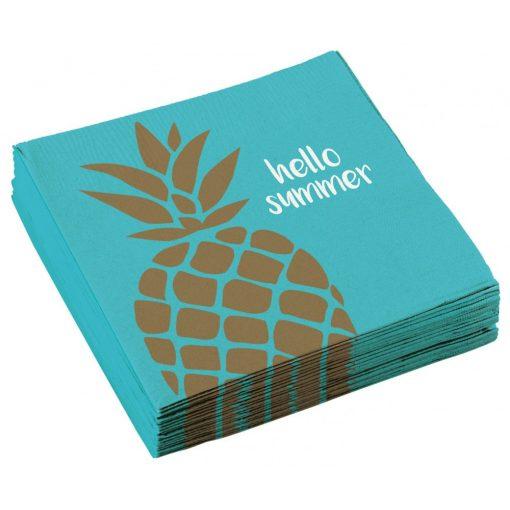 Pineapple, Ananász szalvéta 20 db-os