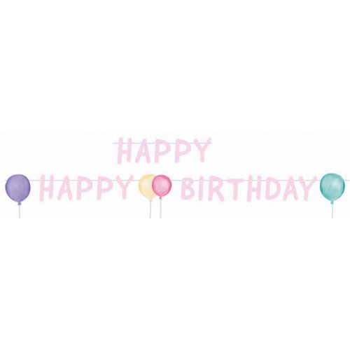 Happy Birthday felirat 150 cm