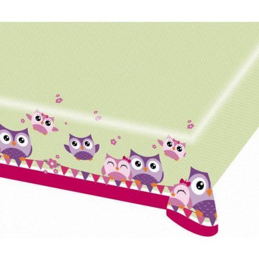 Owl, Bagoly Asztalterítő 120*180 cm