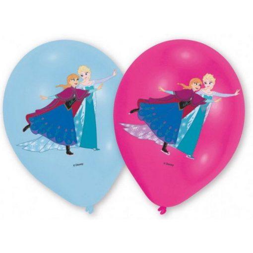 Disney Jégvarázs léggömb, lufi 6 db-os