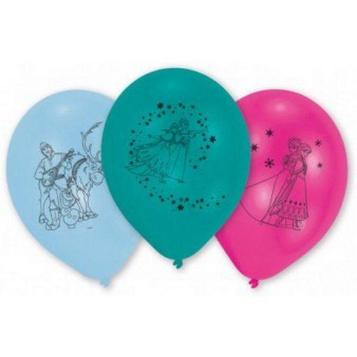 Disney Jégvarázs léggömb, lufi 10 db-os