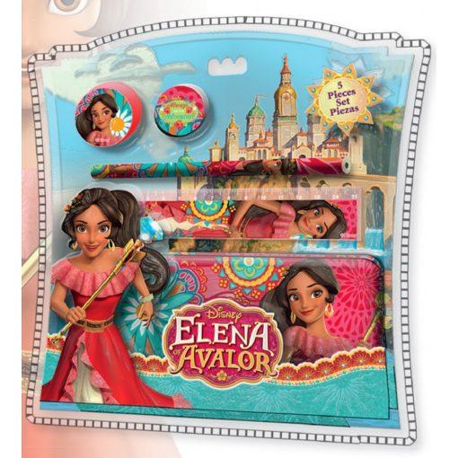 Disney Elena, Avalor hercegnője fém tolltartó szett (5 db-os)