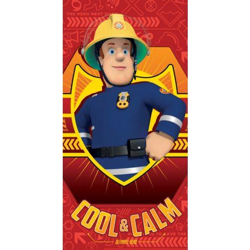 Sam a tűzoltó fürdőlepedő, strand törölköző 70*140cm