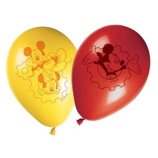 Disney Mickey léggömb, lufi 8 db-os