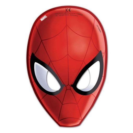 Ultimate Spiderman Web Warriors, Pókember Maszk, álarc 6 db-os