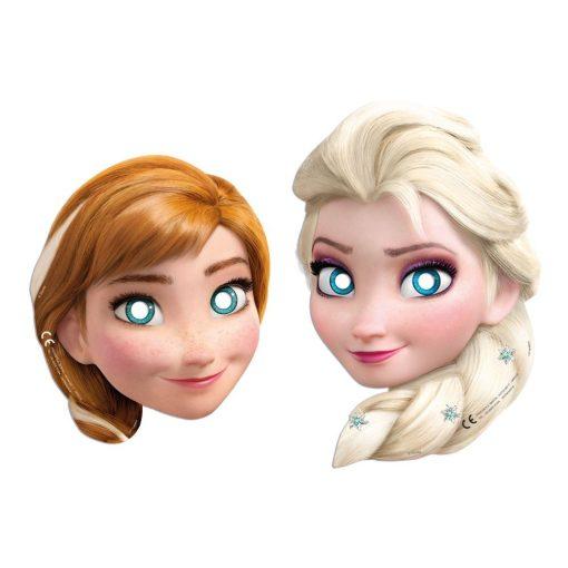 Disney Frozen Alpine, Jégvarázs Maszk, álarc 6 db-os