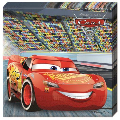 Disney Cars 3, Verdák szalvéta 20 db-os