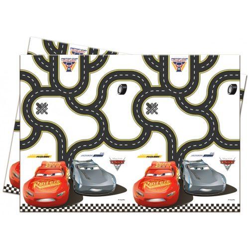 Disney Cars 3, Verdák Asztalterítő 120*180 cm