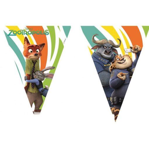 Disney Zootopia, Zootropolis zászlófüzér 2,3 m