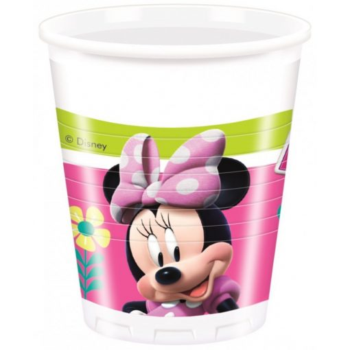 Disney Minnie Happy Helpers Műanyag pohár 8 db-os 200 ml