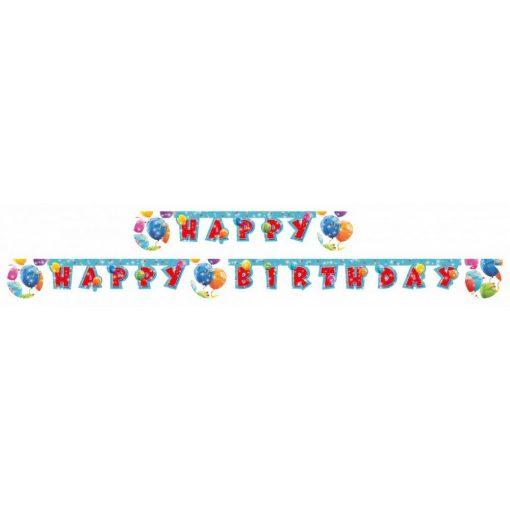 Lufis Happy Birthday felirat 200 cm