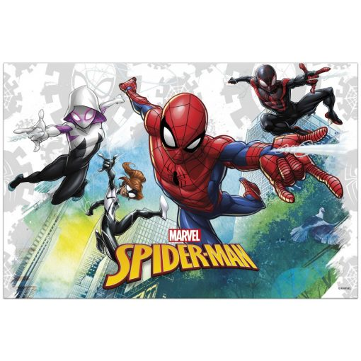 Spiderman Team Up, Pókember Asztalterítő 120*180 cm