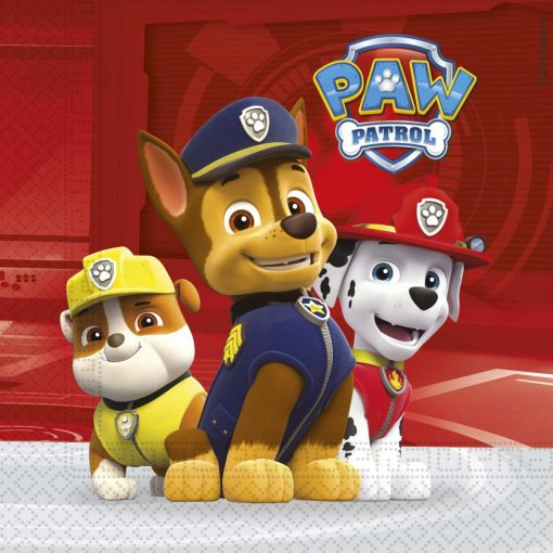 Paw Patrol-Ready for Action, Mancs Őrjárat szalvéta 20 db-os